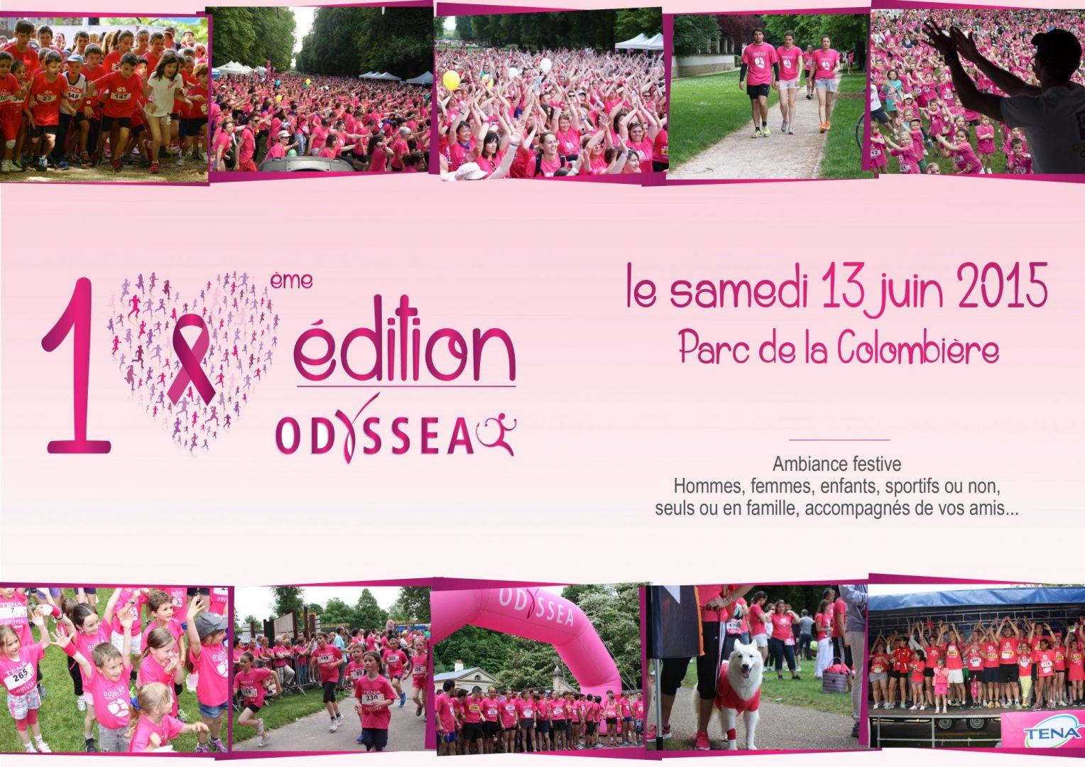 5000 participants pour marcher ou courir à Odyséa 2015