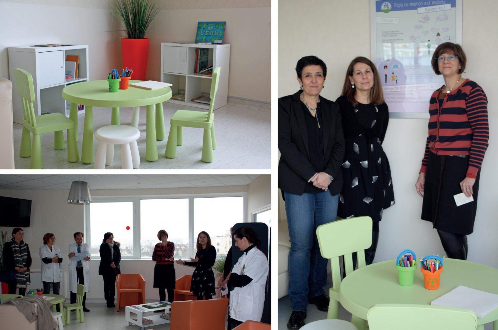 Inauguration espace famille