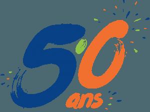 Logo des 50 ans