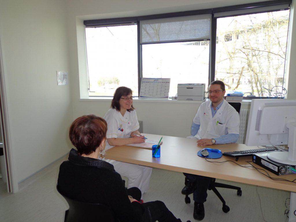Consultation en hôpital de Jour