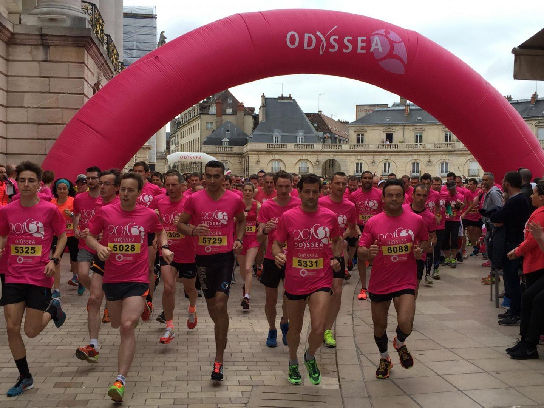 Odyssea Dijon 2016 - 7 500 participants et 50 200 € reversés
