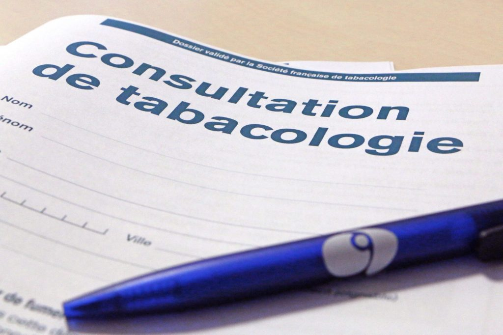 Consultation de tabacologie