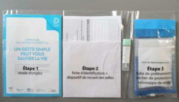 Kit dépistage cancer colorectal