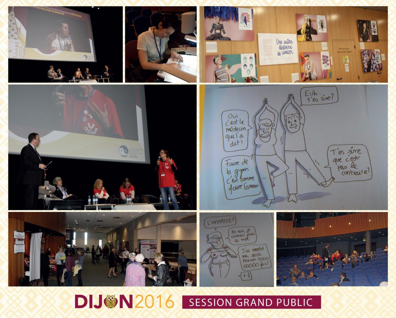 Session grand public congrès à Dijon