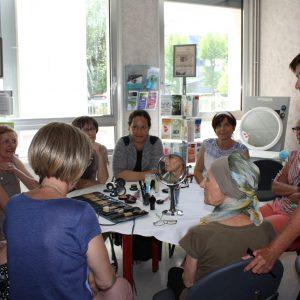 Atelier maquillage au CGFL