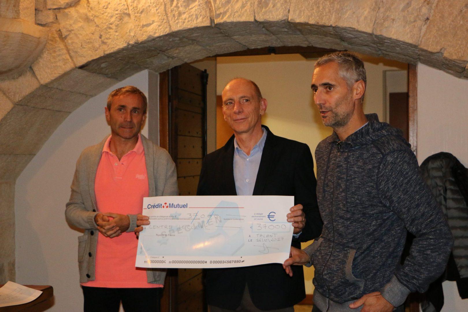 Remise de chèques Odysséa 2017
