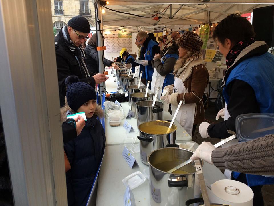 Soupe des chefs à Dijon