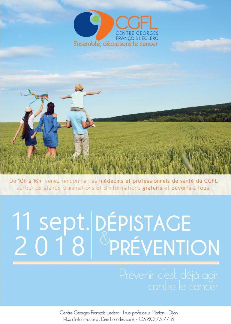 Journée Prévention & Dépistage au CGFL 11/09/2018