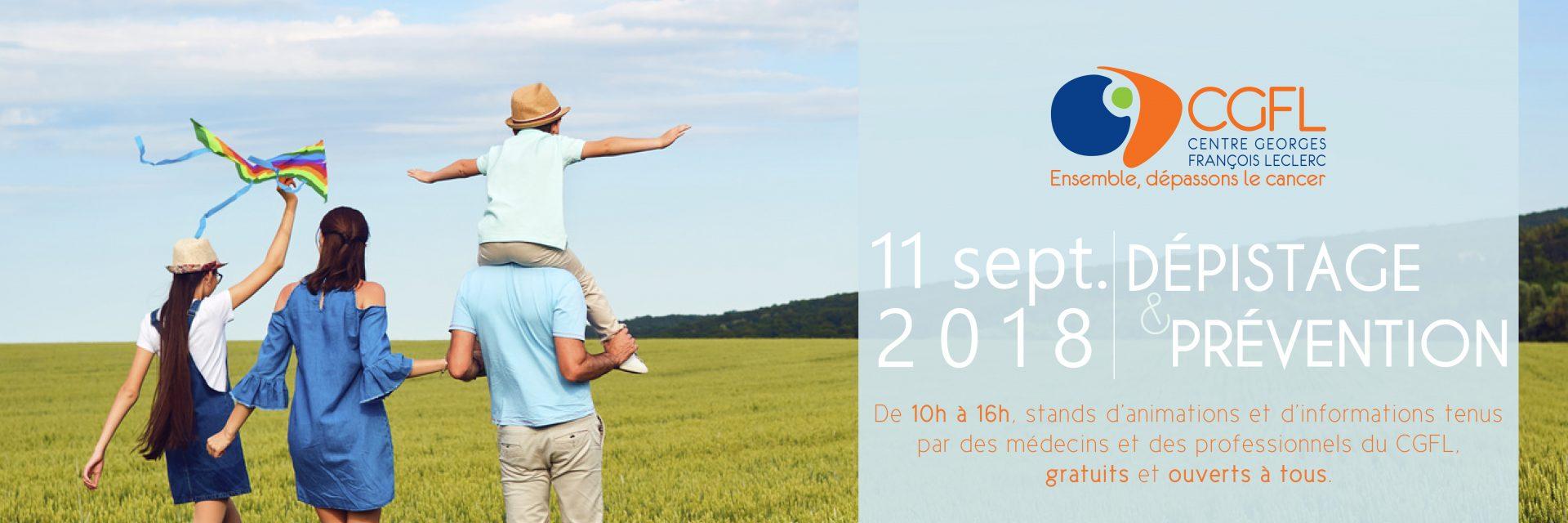 Journée Prévention et Dépistage CGFL 11/09/2018
