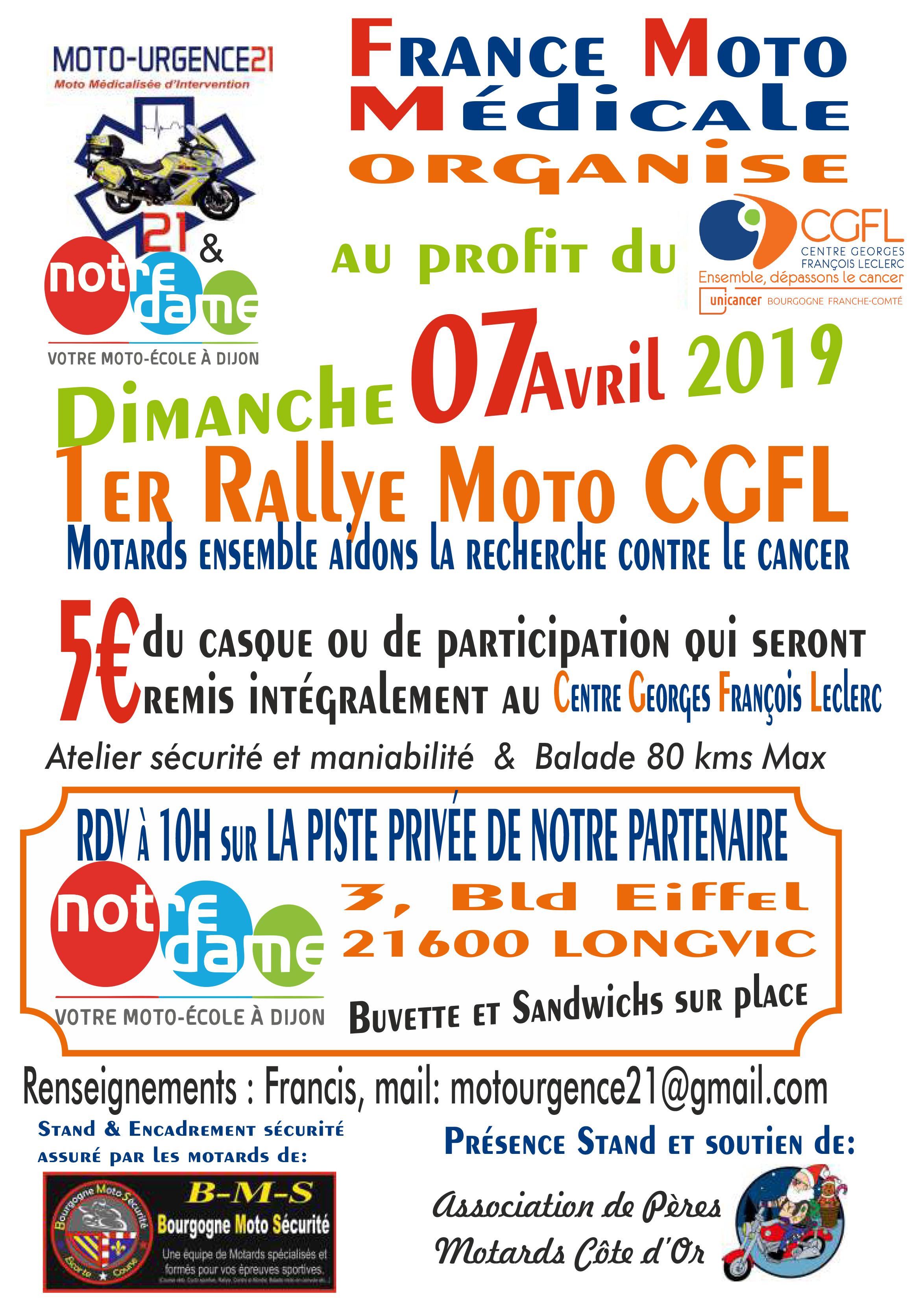 Rallye moto CGFL