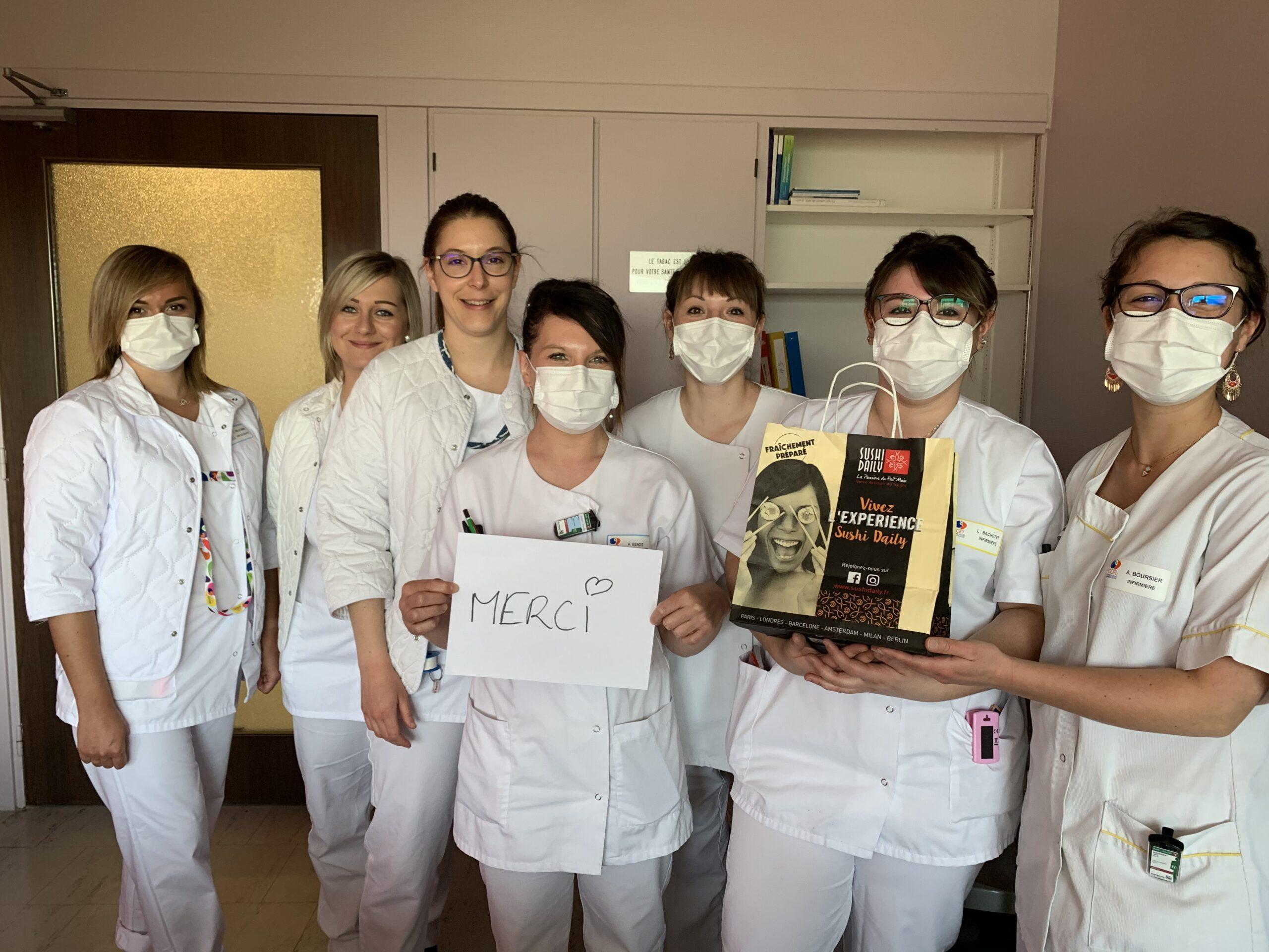 Covid19 soutien aux soignants