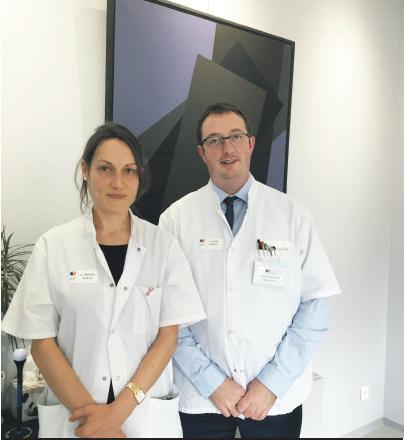 Dr Aurélie Bertaut et Pr Charles Coutant