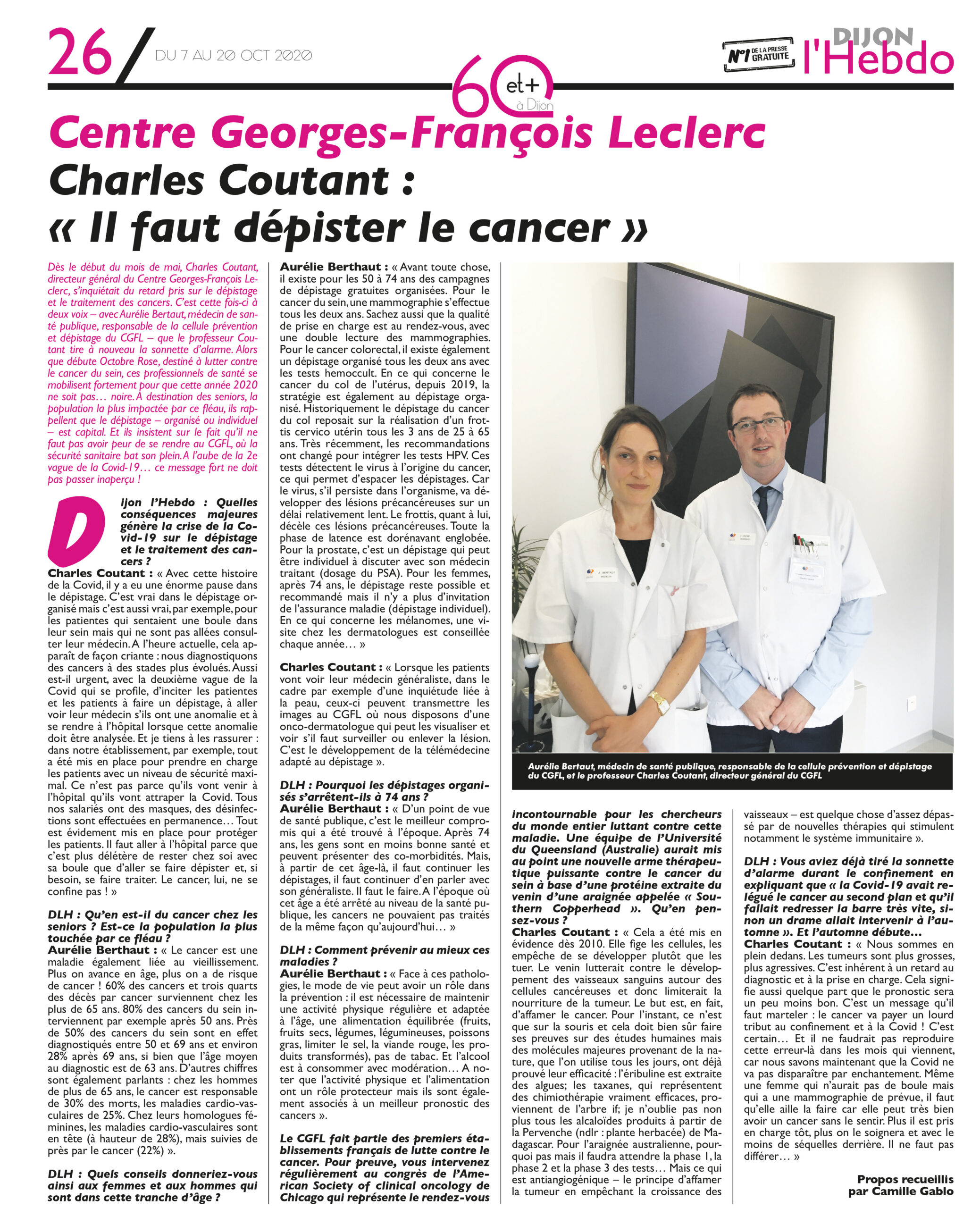 dijon lhebdo article