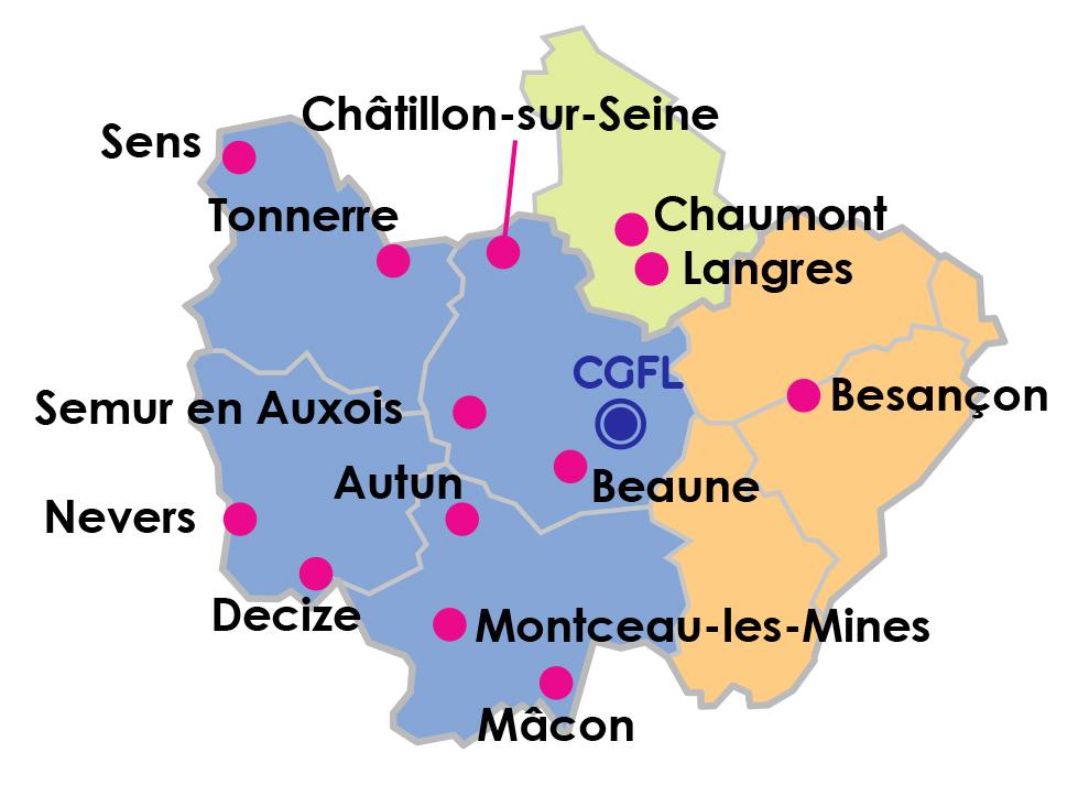 Carte groupement hospitalier territorial